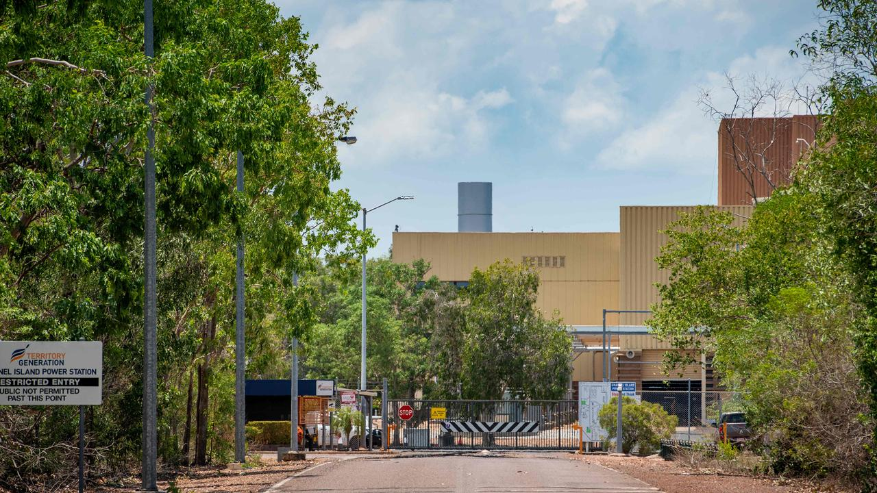 Channel Island Power Station suffered a gas supply interruptionwhich cut the power across the Darwin and Katherine network. Picture: Che Chorley