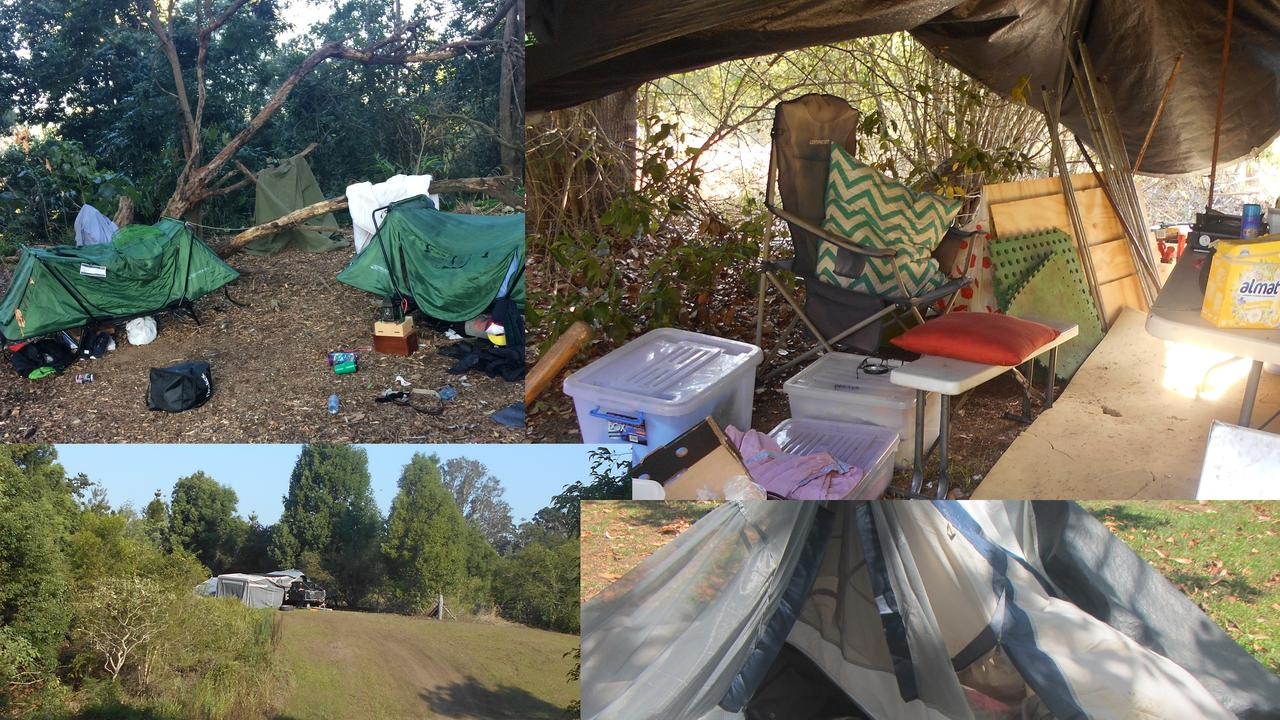 BUSTED: Illegal camp sites discovered in various parts of the Gympie region. Illegal campers could be slugged up to $266 under a council proposal aimed at discouraging the increasing activity.