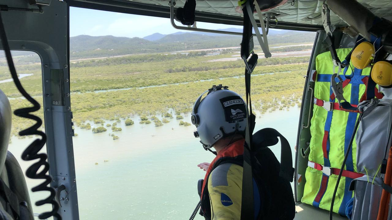 RACQ Capricorn Rescue was tasked to perform an extensive aerial search from the Emu Park area to Port Alma looking for missing Boyne Island man Craig Gordon.