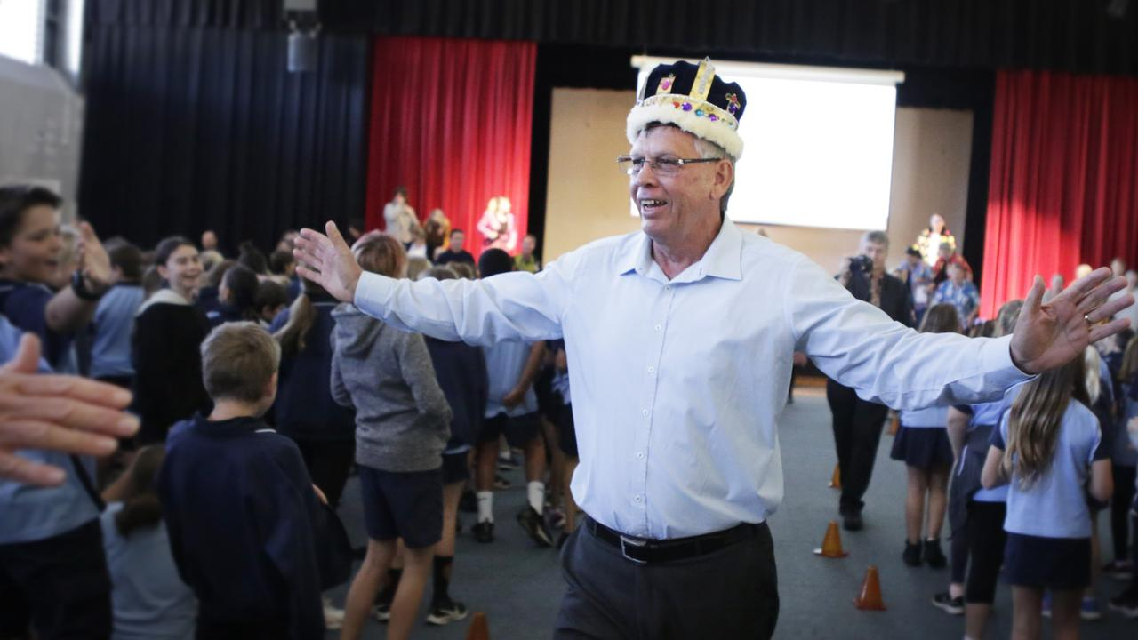 Popular Coolum State School principal Pat Cavanagh was farewelled into retirement after 22 years.