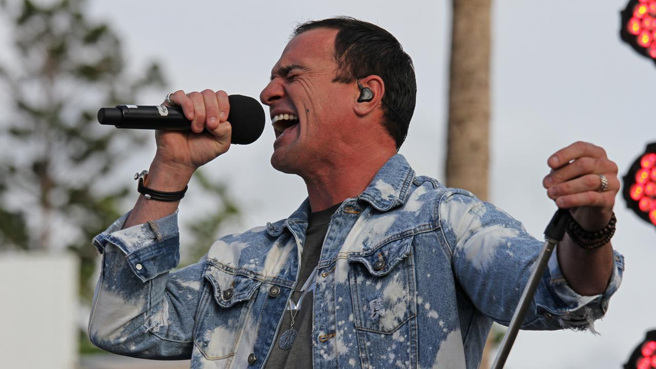 Aussie singer Shannon Noll will take the stage in Coffs this weekend.