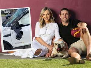 'Airbags saved our lives': McCullough in car crash scare