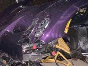 Teen crashes dad's $4.6 million supercar