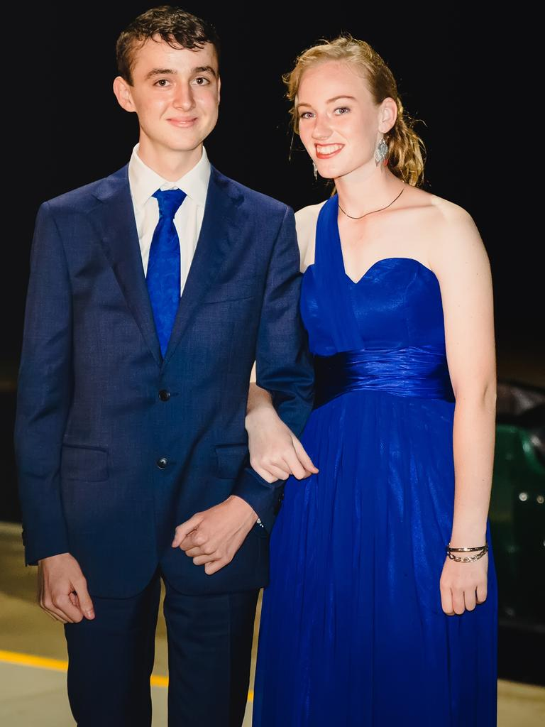 Cooloola Christian College Formal Michael Benoit and Talisa Herrington