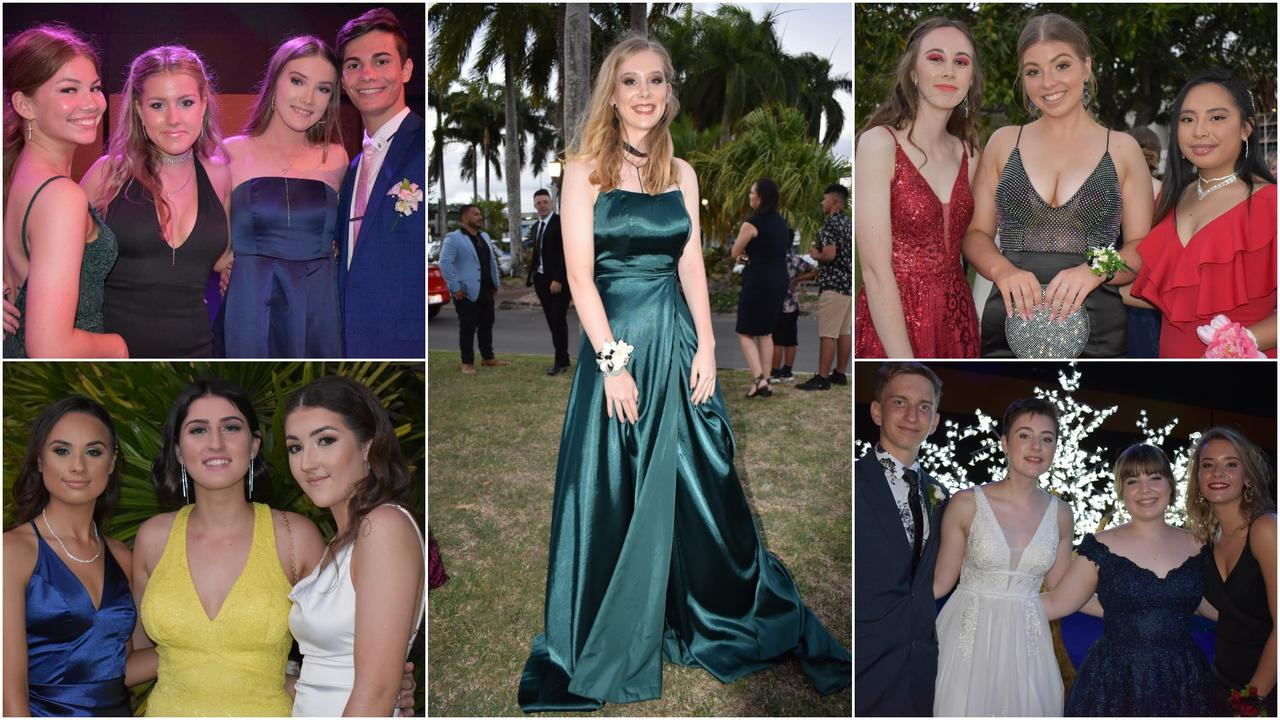 Students at the Mackay North State High School Year 12 formal at the Mackay Entertainment and Convention Centre, Saturday November 21, 2020. Picture: Heidi Petith