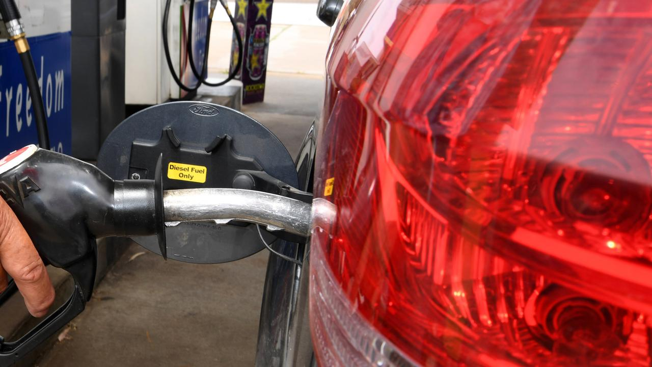 FUEL THIEF: Mrs Gimm said the opportunistic crime was a shock to her and her husband.
