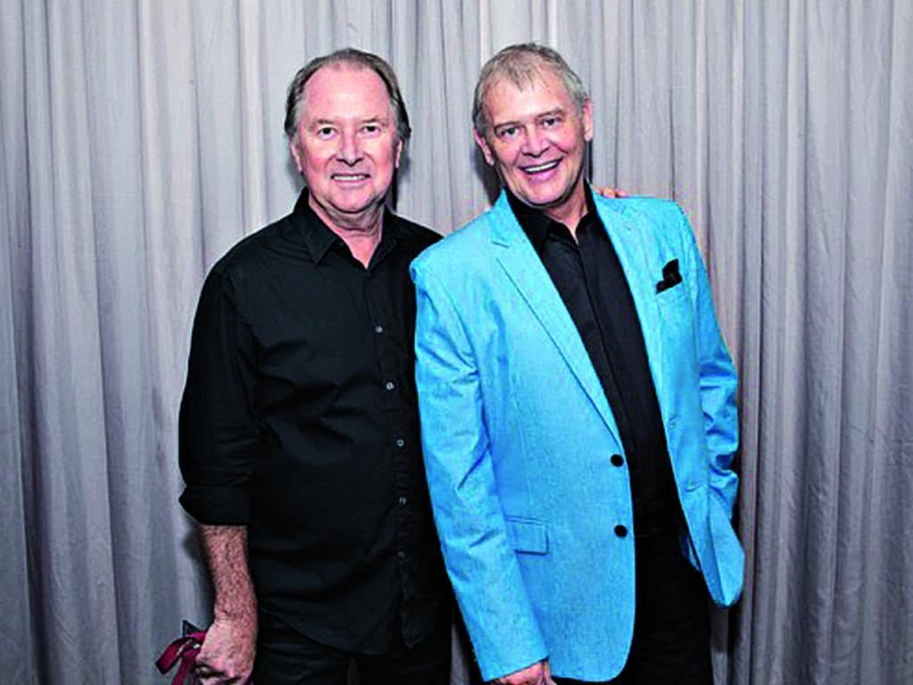 Glenn Wheatley and John Farnham. Picture: Glenn Wheatley