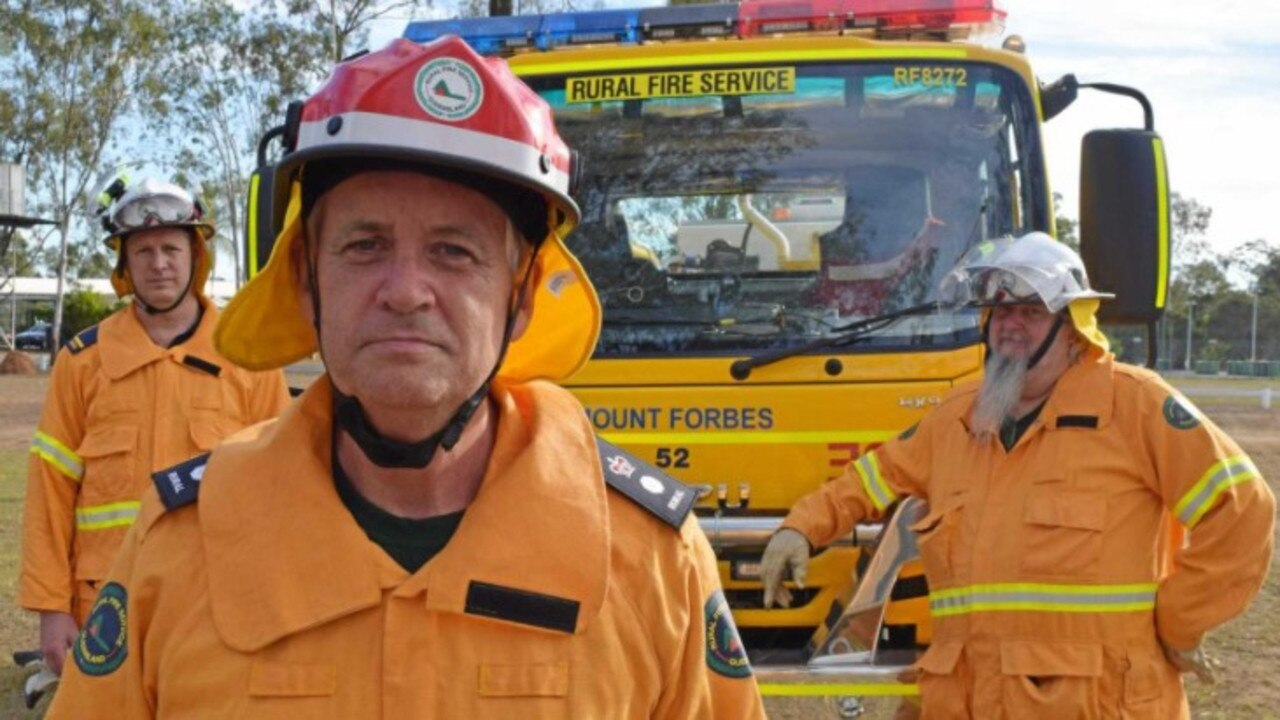 Queensland Rural Fire Service regional manager Superintendent Alan Gillespie fears fire conditions will worsen across Sunday and Monday. Photo: Andrew Korner