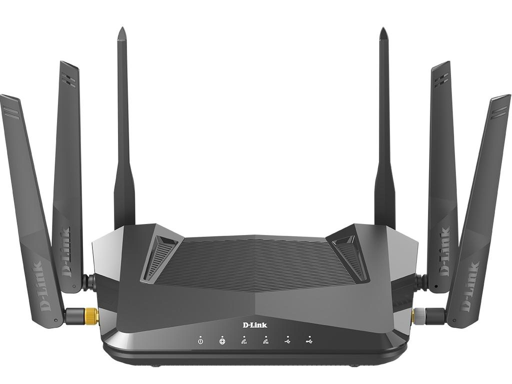 The D-Link AX5400 is an advanced wireless router. Picture: Supplied