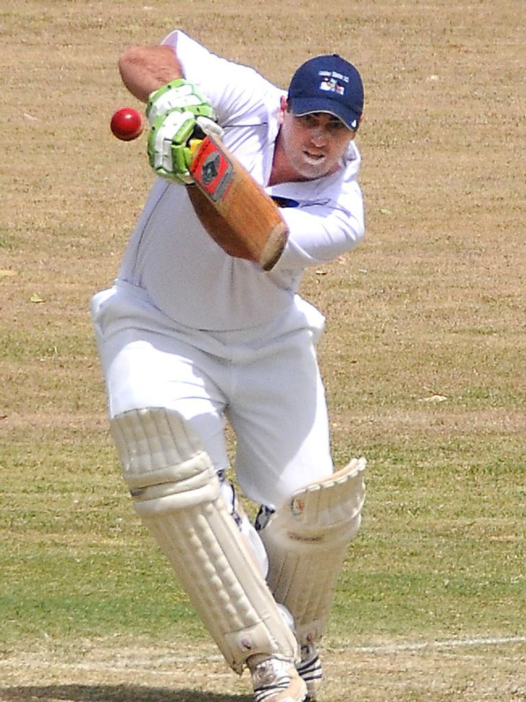 Laidley batsman Jason Cubit