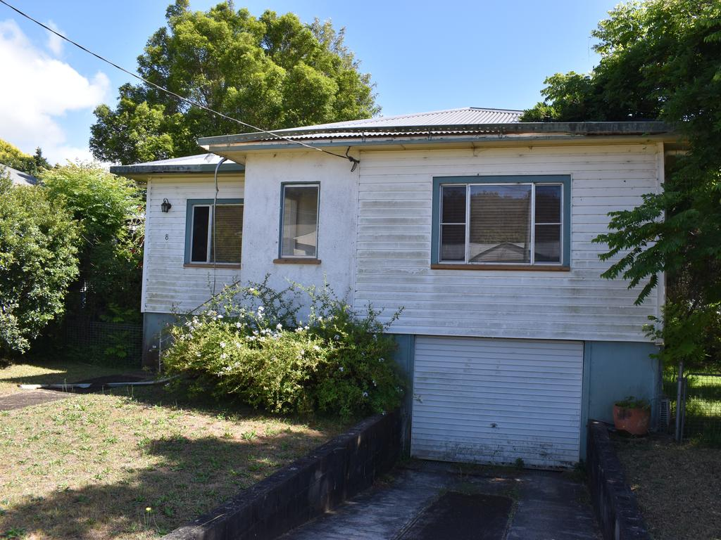 One of the houses set to go under auction at Wade St.