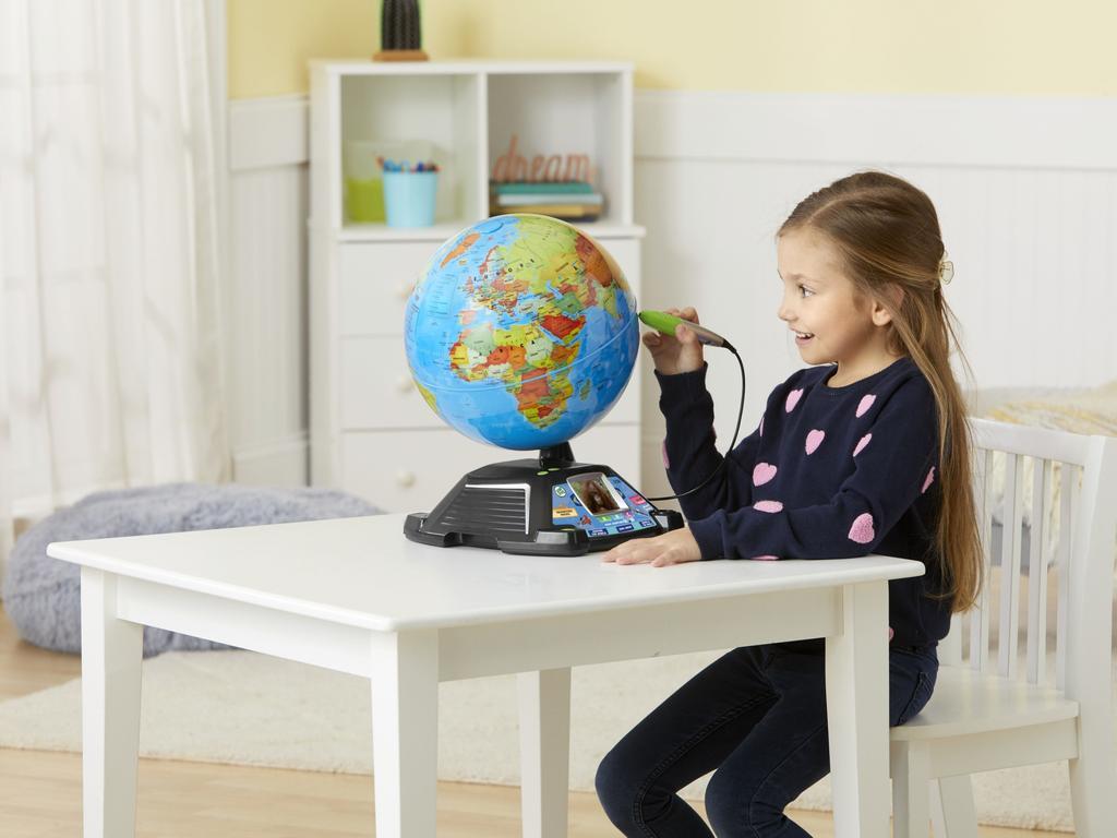 LeapFrog's Magic Adventure Globe is an interactive world map.