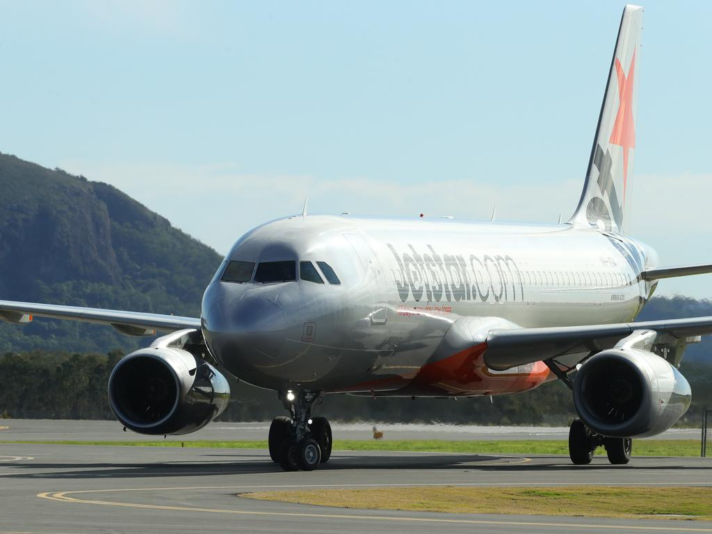 One Jetstar flight is due to land at Sunshine Coast Airport from Adelaide on Tuesday, November 24. Photo Lachie Millard