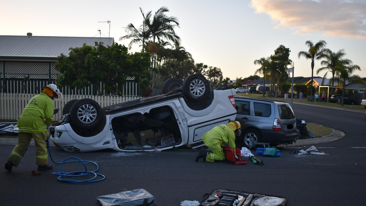The aftermath of the crash. Photo: Stuart Fast