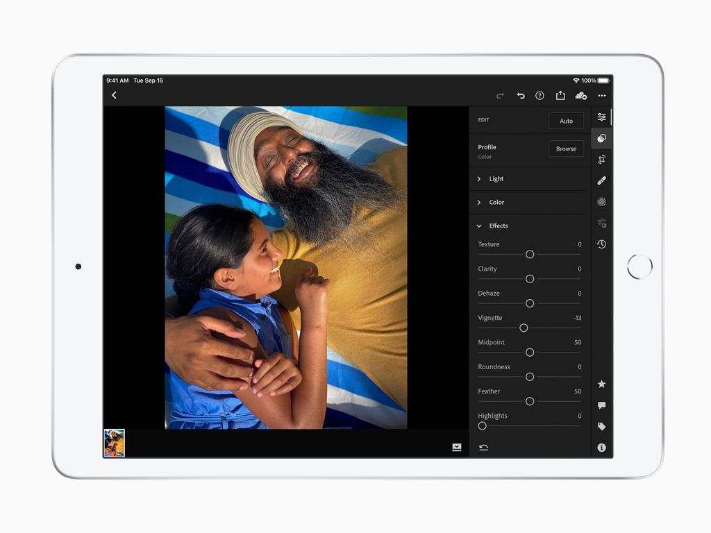 The eighth generation iPad features a faster processor and 10.2-inch screen. Picture: Supplied