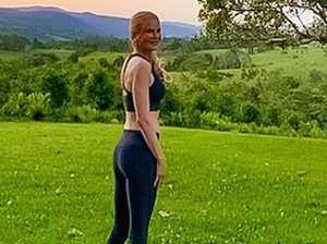 Nicole Kidman's active new look in Byron