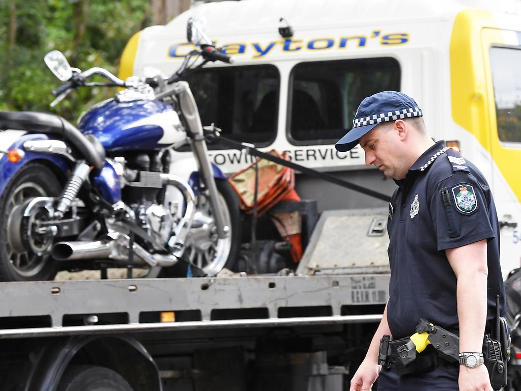 A motorbike rider has died following a serious crash at Mooloolah Valley earlier this year. Photo Patrick Woods