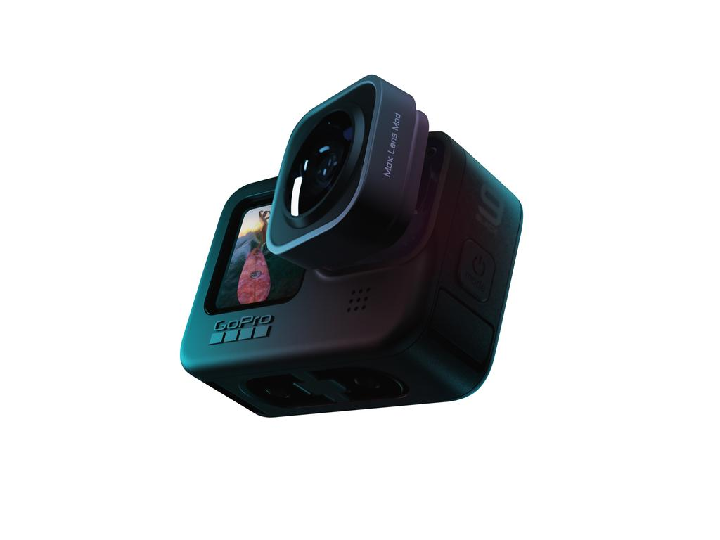GoPro's Max Lens Mod delivers a much wider field of view for the action camera.