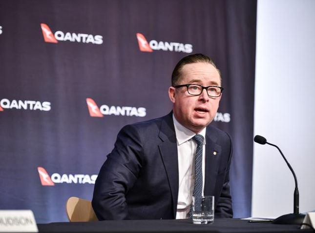Qantas CEO Alan Joyce. Picture: Flavio Brancaleone. Source: News Corp Australia