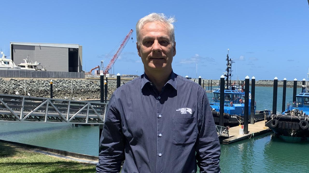 North Queensland Bulk Ports chief executive Nicolas Fertin. Picture: Melanie Whiting