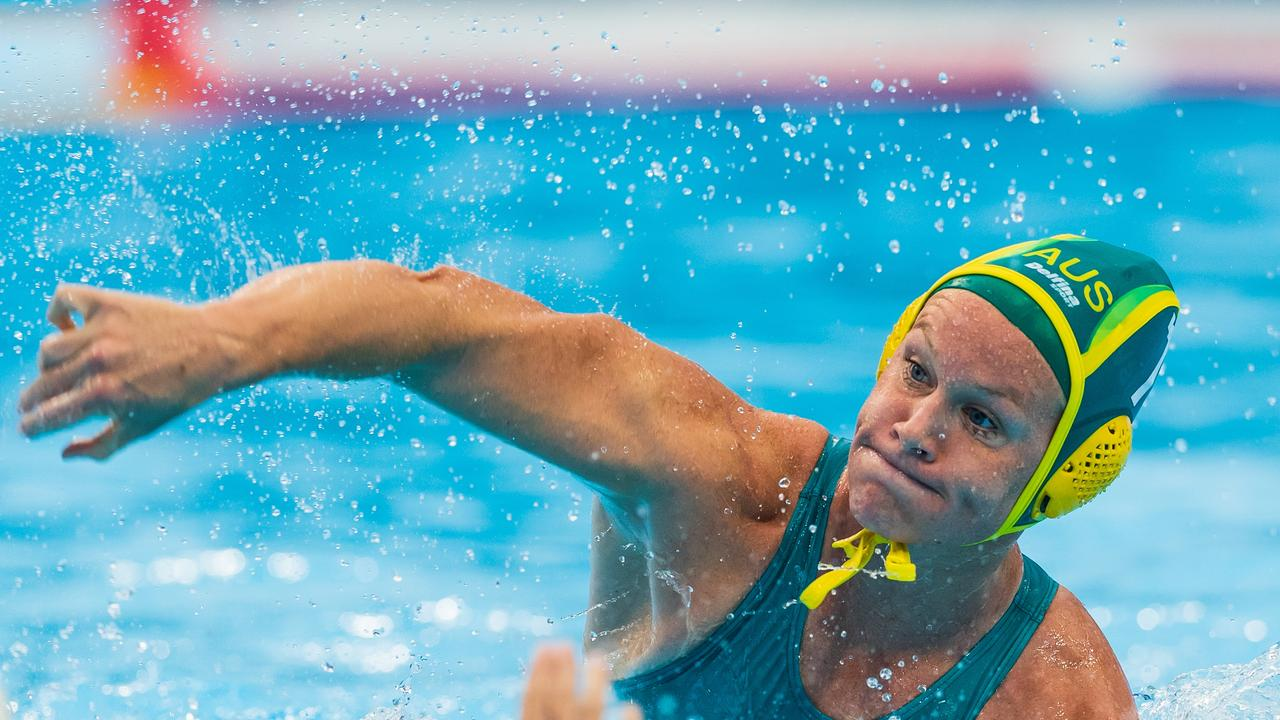 Dual Olympian and Aussie Stingers captain Rowie Webster. Picture: Orange Pictures / Deepbluemedia / Insidefoto