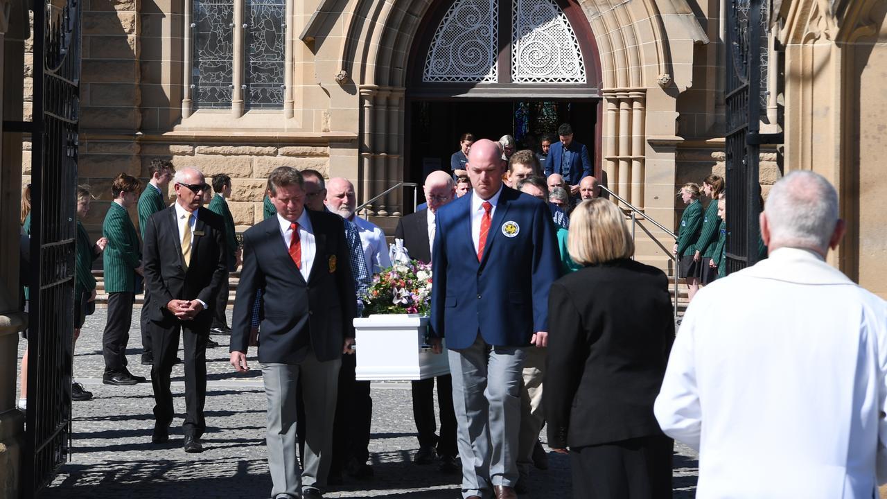 Rockhampton woman Karen Gilliland is laid to rest at St Joseph's Cathedral Rockhampton July 7 2020