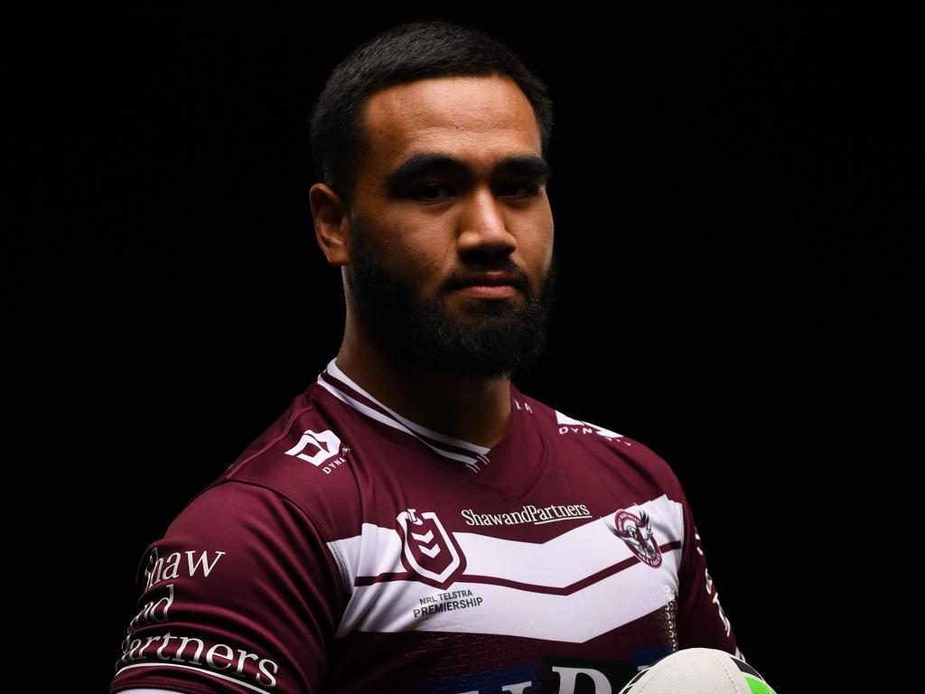 Keith Titmuss was in Manly's NRL squad. Picture: Nathan Hopkins/NRL Photos
