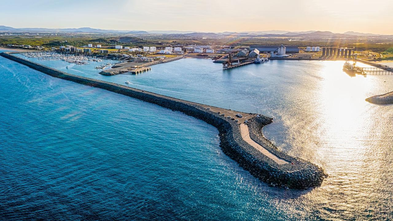 Aerial image of the Port of Mackay. Picture: supplied