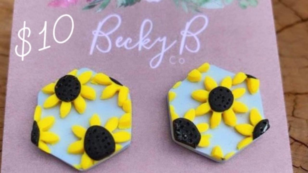 Becky B Co earrings.