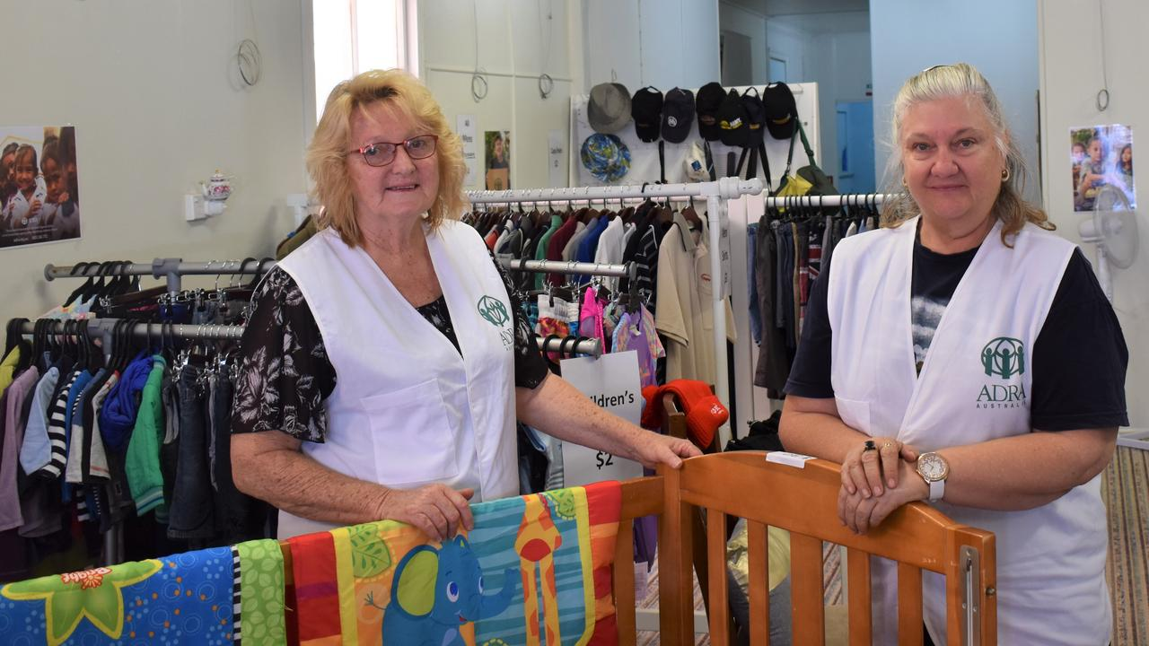 A BRAND new Monto op shop operated by locals opened its doors earlier this month, promising the money will go straight into areas of need within the community. Photo: Kristen Camp