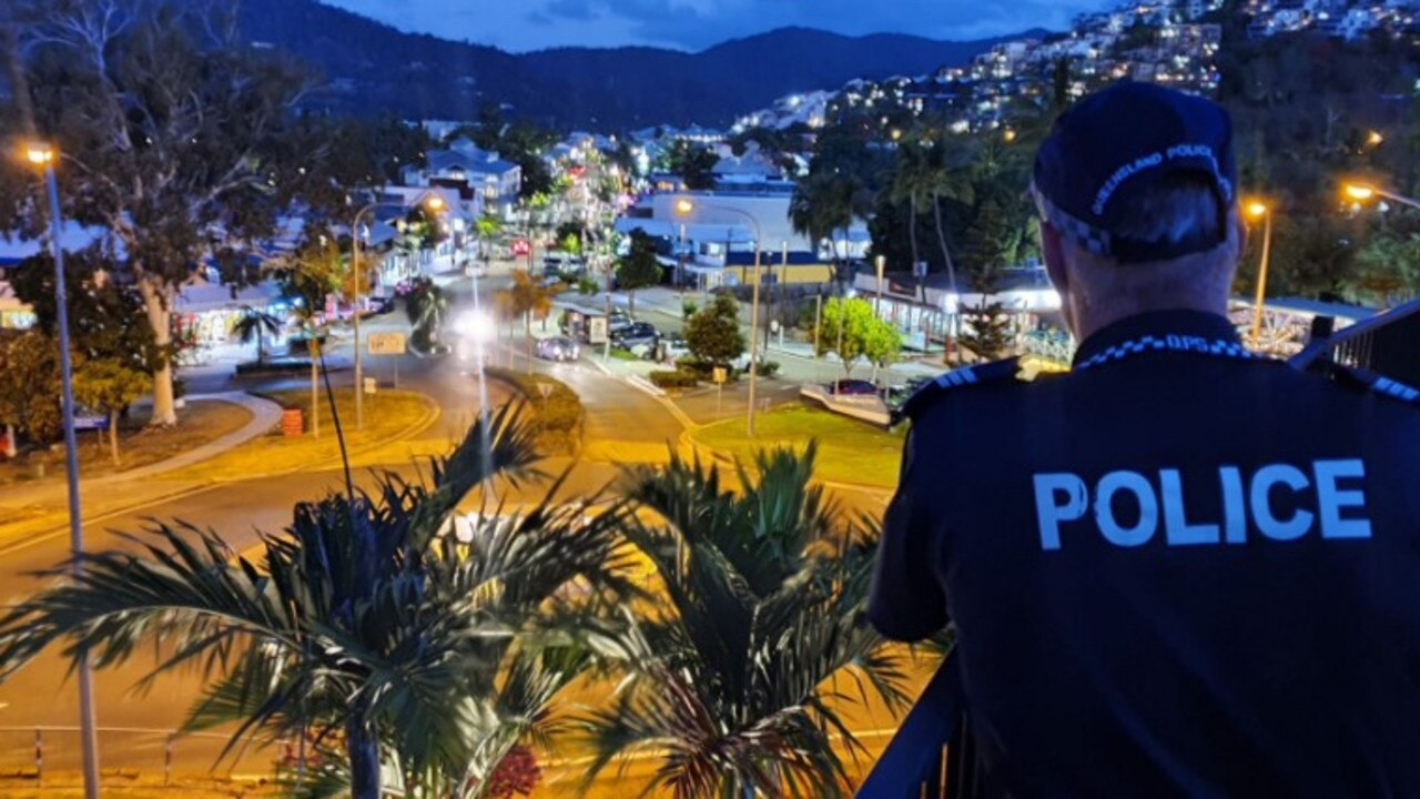 School leavers holidaying in Airlie Beach have been well-behaved so far according to police. Picture: Supplied