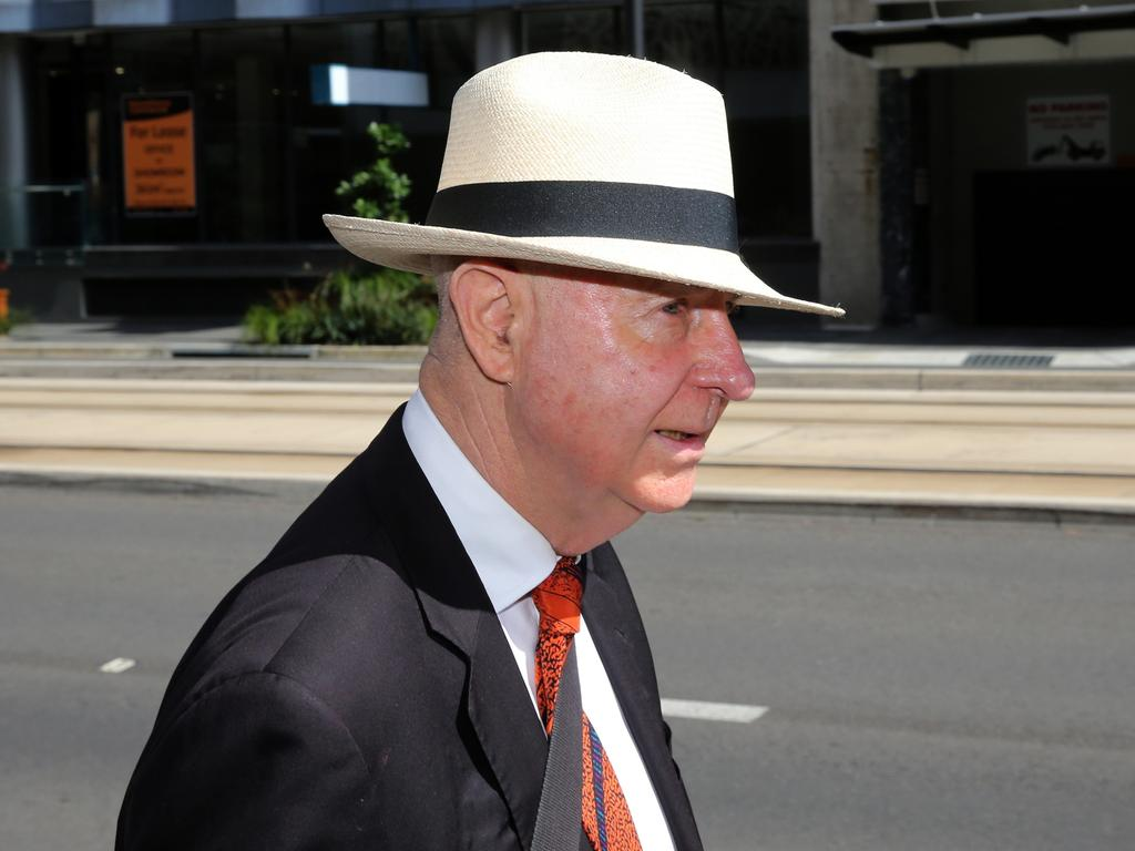 Phillip Boulten SC, Jarryd Hayne's barrister. Picture: NCA NewsWire/Peter Lorimer