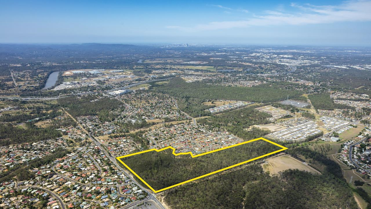 A 27ha parcel of land in Collingwood Park sold for $13 million.