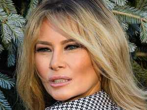 Melania's first public appearance in weeks