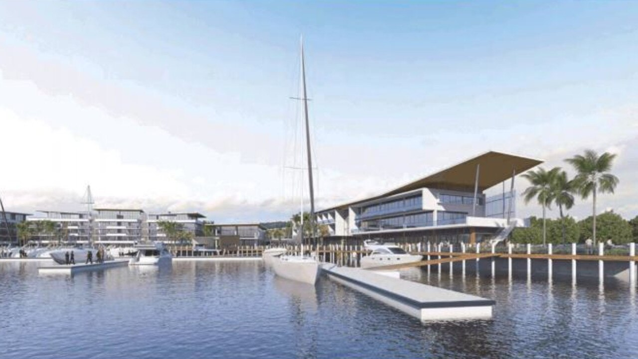 MAKING WAVES: Plans for the Gateway Marina in the recent Bundaberg Regional Council ordinary meeting.