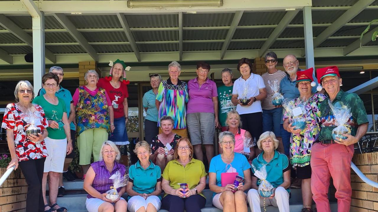 The Monday beginners group at Grafton District Golf Club had a great time at their end of year party.