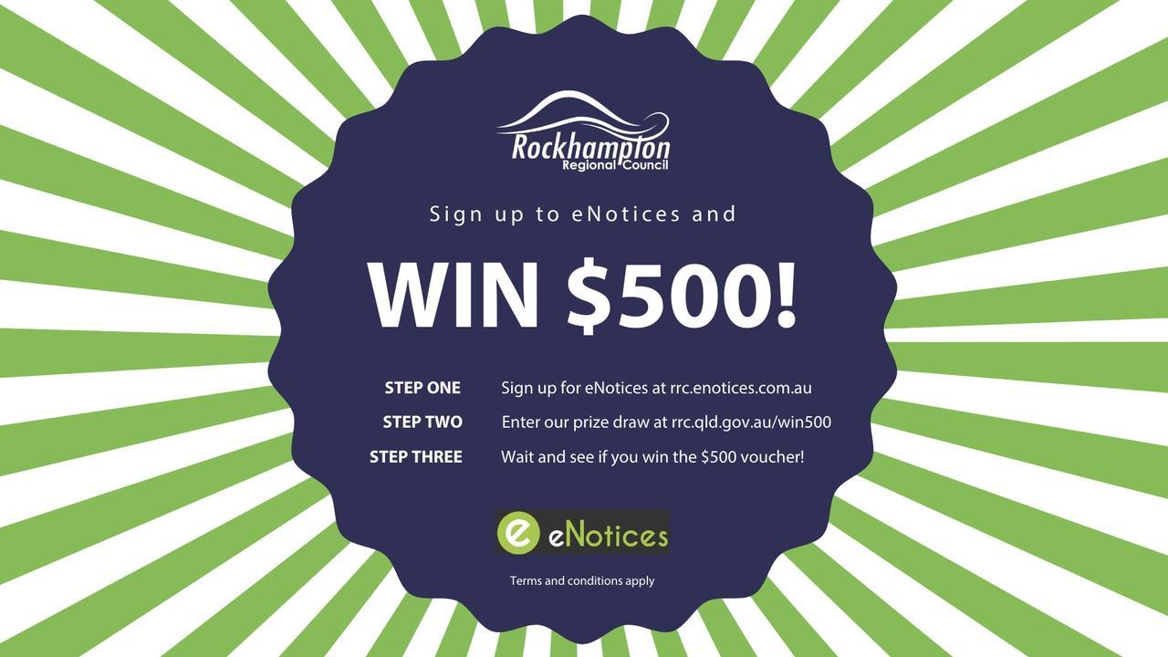 Rockhampton Regional Council's $500 Christmas competition.
