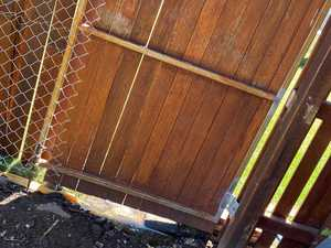 'It was horrific': Warning after botched fencing job
