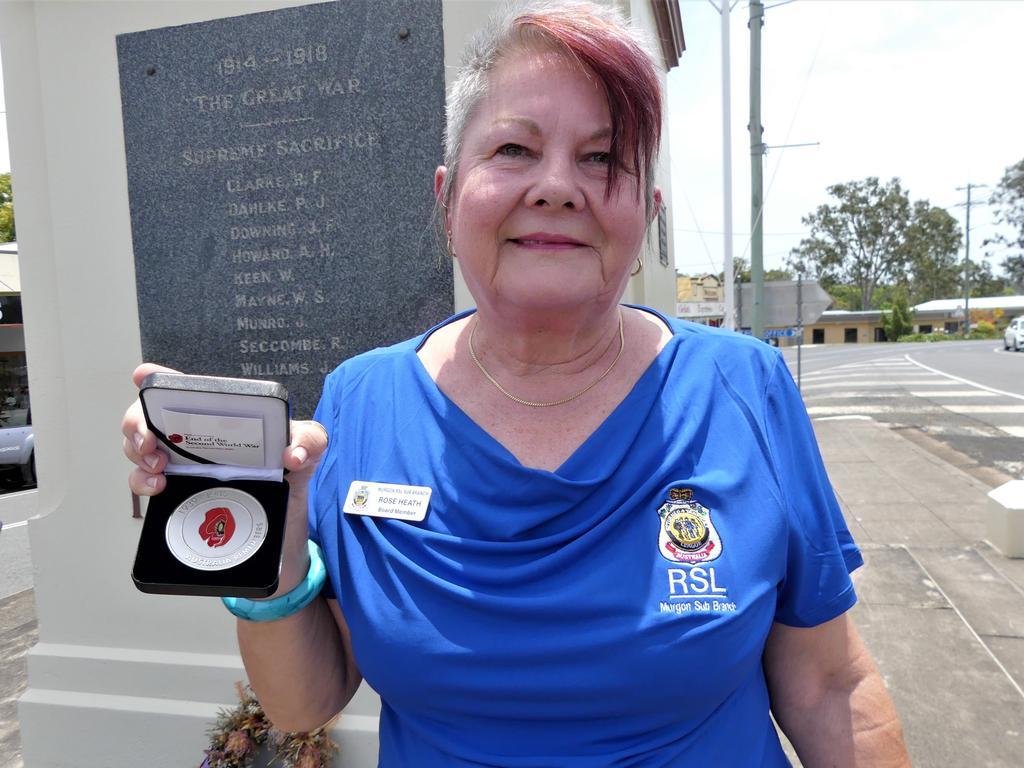 Goomeri RSL board member Rose Heath. Photo/Holly Cormack.