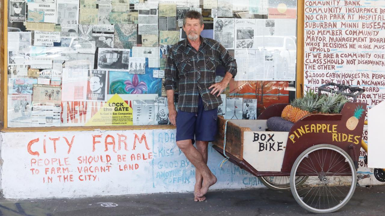 Chris Hooper outside his East Street Shop. Picture: Steve Vit