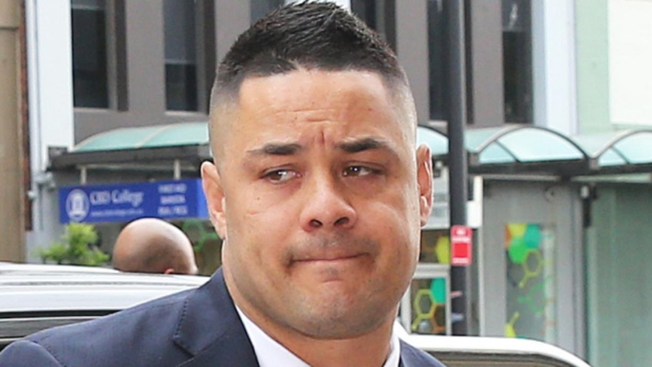 Former star rugby league player Jarryd Hayne is on trial for rape charges. Picture: NCA NewsWire/Peter Lorimer
