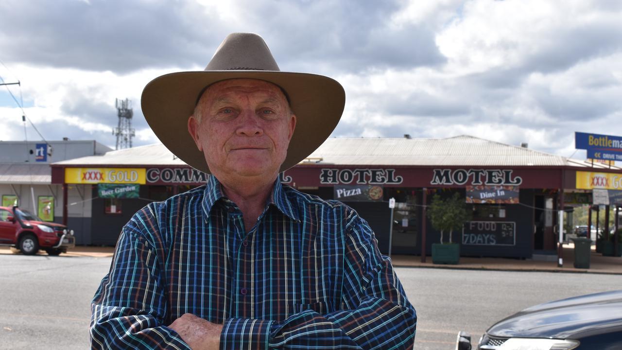 Biggenden Chamber of Commerce president Kevin Edwards. Photo: Sam Turner