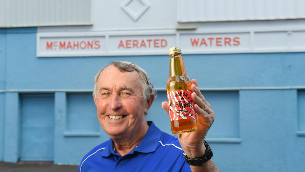 Peter McMahon with a bottle of N-E-Thing. Cartons of McMahon's Soft Drink are being sold to raise money for Ipswich Hospice Care again in 2020.