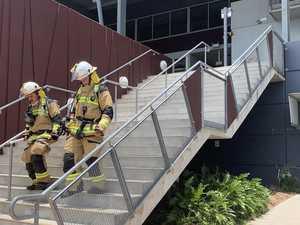 Groundsman's keen senses raise stadium fire alarm