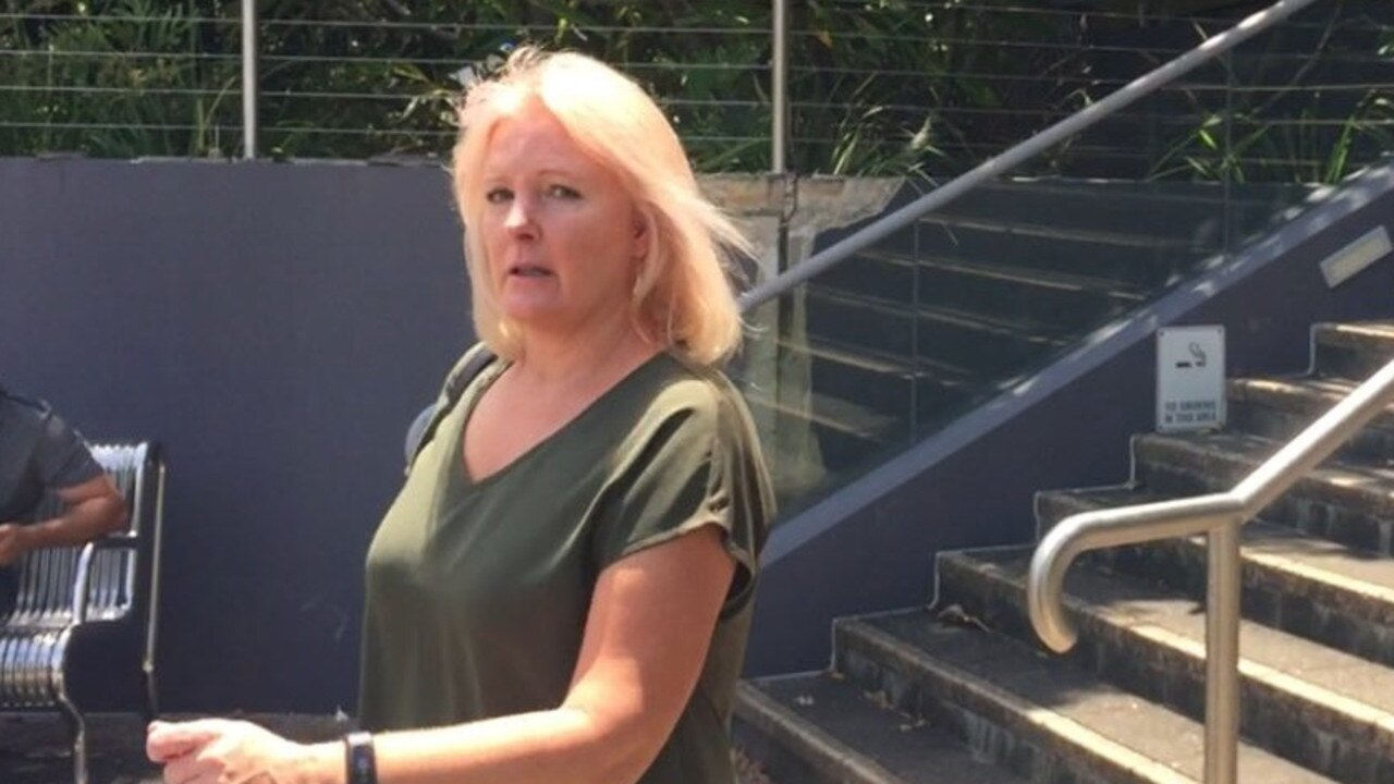 Anita Gaye Smith pleaded guilty in Caloundra Magistrates Court on Tuesday to driving under the influence of liquor on November 1. Picture: Laura Pettigrew