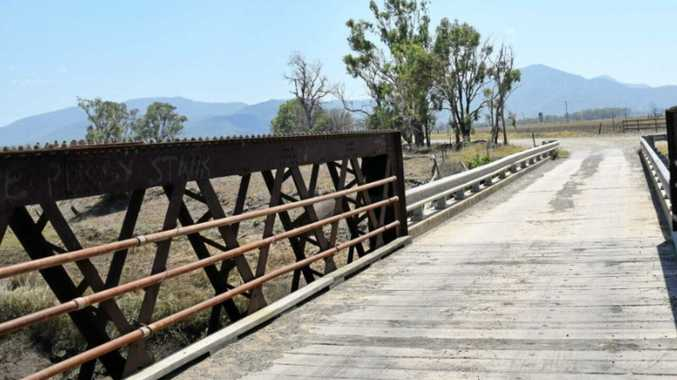Old bridge to be transformed into a fishing platform