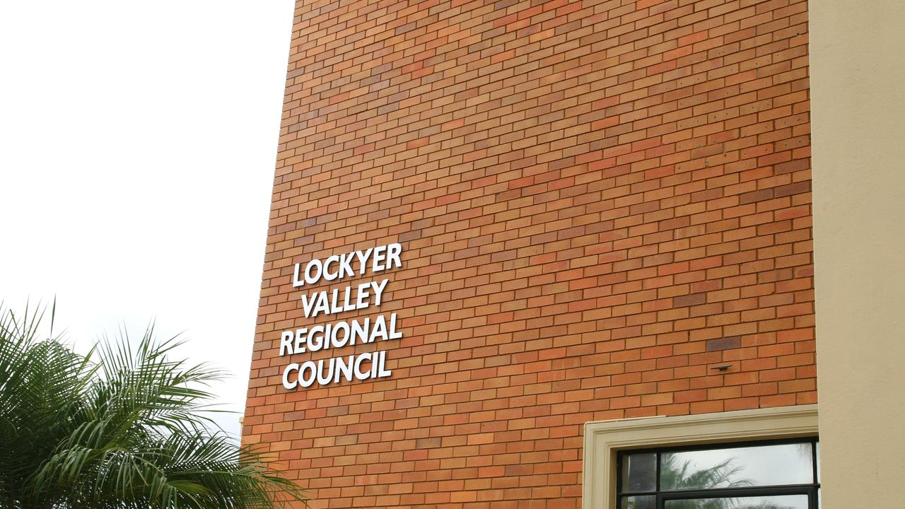 Lockyer Valley Regional Council Chambers, Gatton. Picture: Dominic Elsome