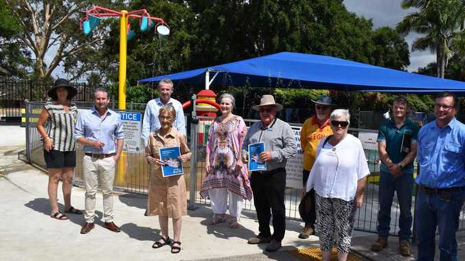 Pollies pool together for Kyogle Aquatic centre cash splash