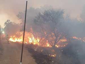 BOWEN BUSHFIRE: Residents told to stay alert