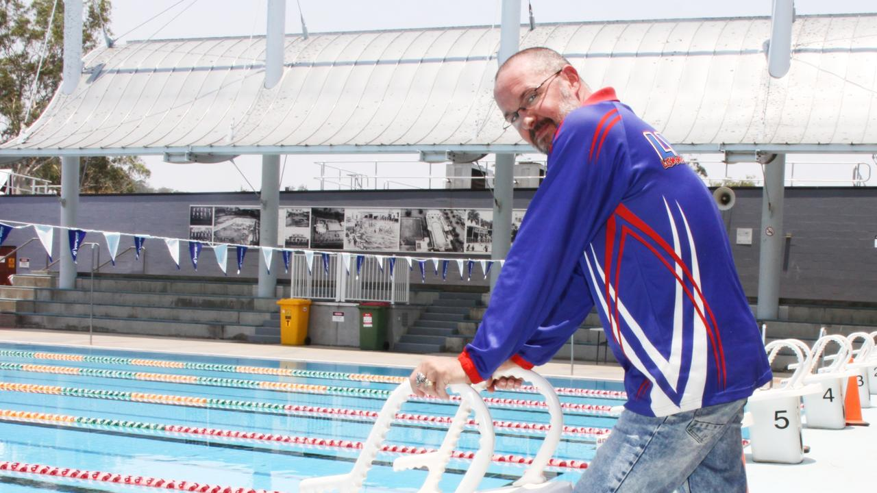NATIONAL SELECTION: Lismore Workers Swim Team head coach Peter Harvey is thrilled that he and athlete McKinley Arnison, 14, have been selected for the 2021 Australia Para Development Camp. Photo: Alison Paterson